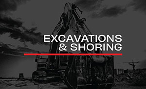 Trenching shoring and excavation safety program